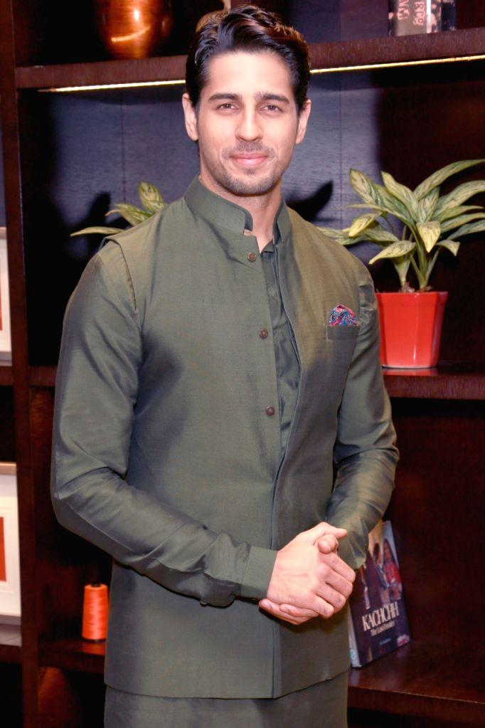New Zealand's Brand Ambassador actor Sidharth Malhotra during a press conference in New Delhi on Oct 27,2016. - Sidharth Malhotra