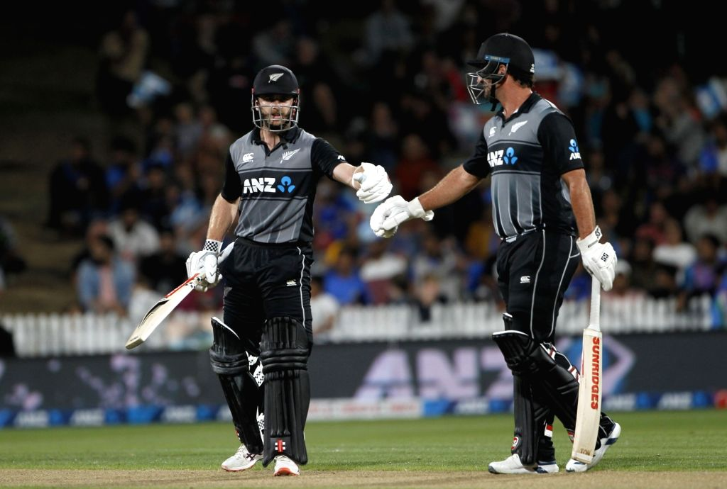 Image result for colin de grandhomme vs India third T20I
