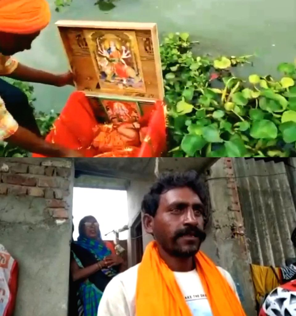 Newborn recovered from Ganaga, UP CM says govt will take care.
