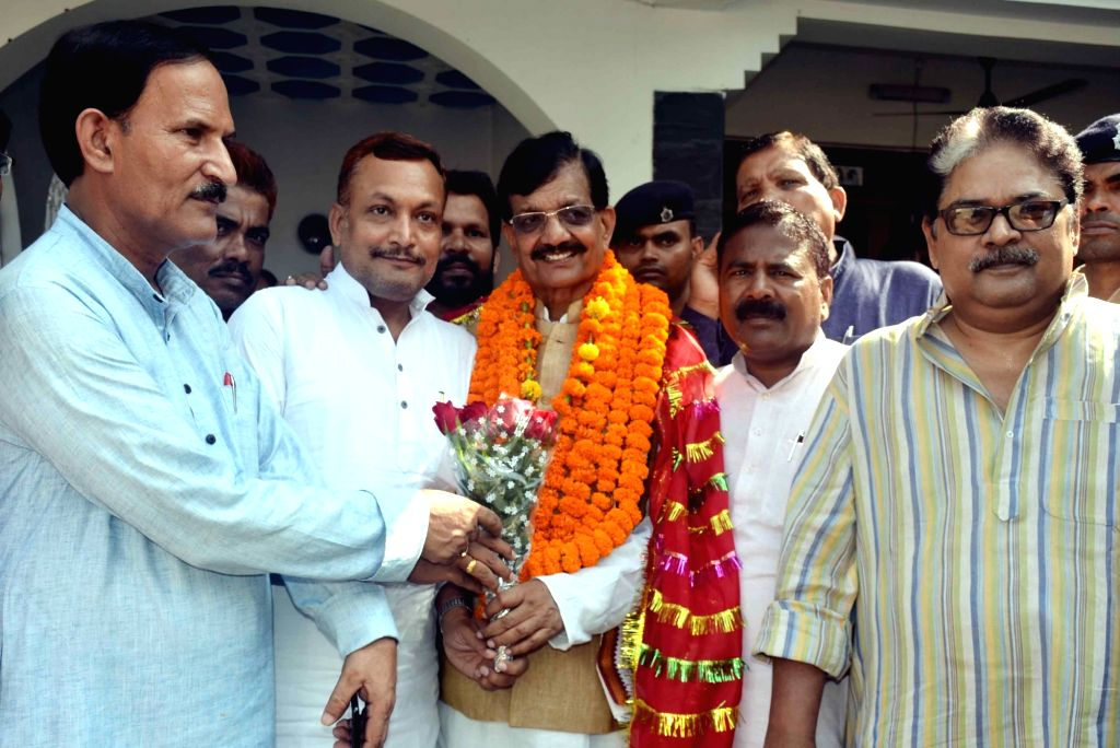 Newly appointed Bihar Congress President Madan Mohan Jha in Patna on Sept 18, 2018.