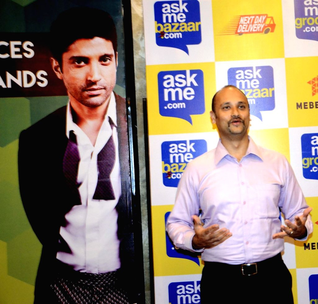Next Day Delivery Service head Marichi Mathur during a press conference in Mumbai, on Nov 2, 2015.