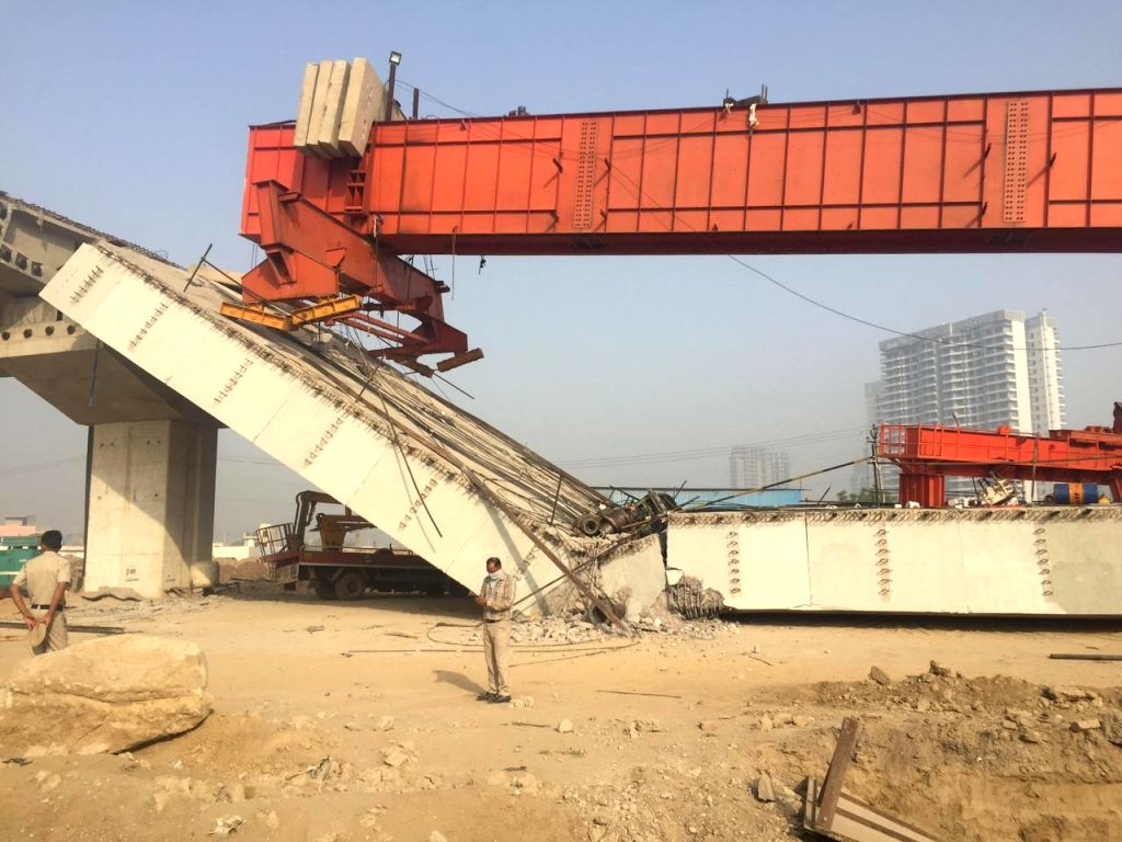NHAI committee to probe Dwarka Expressway flyover collapse