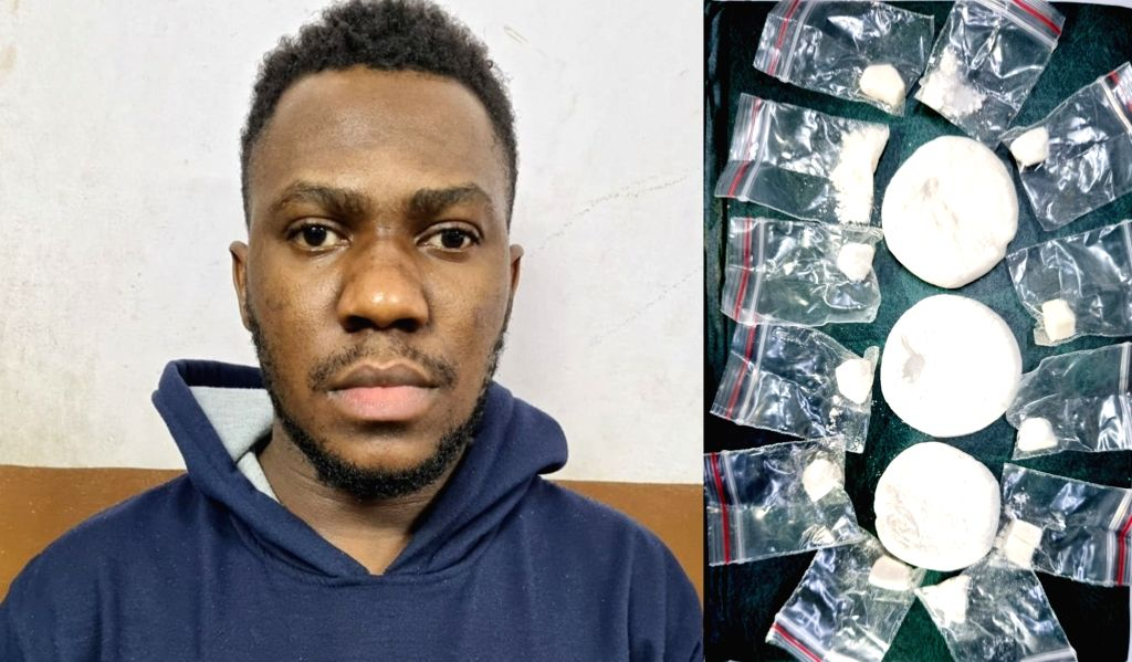 Nigerian national held for selling cocaine in Bengaluru.