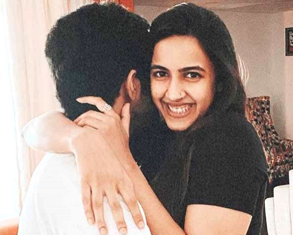 Niharika Konidela shares pictures with fiance.