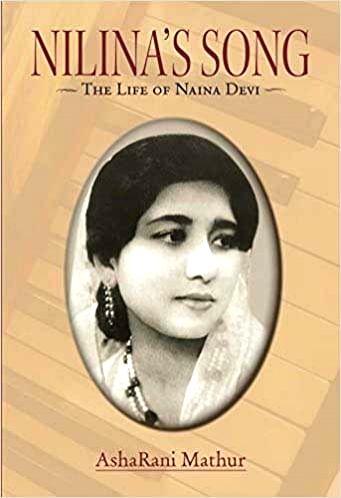 """""""Nilina's Song - The life of Naina Devi"""" by AshaRani Mathur."""
