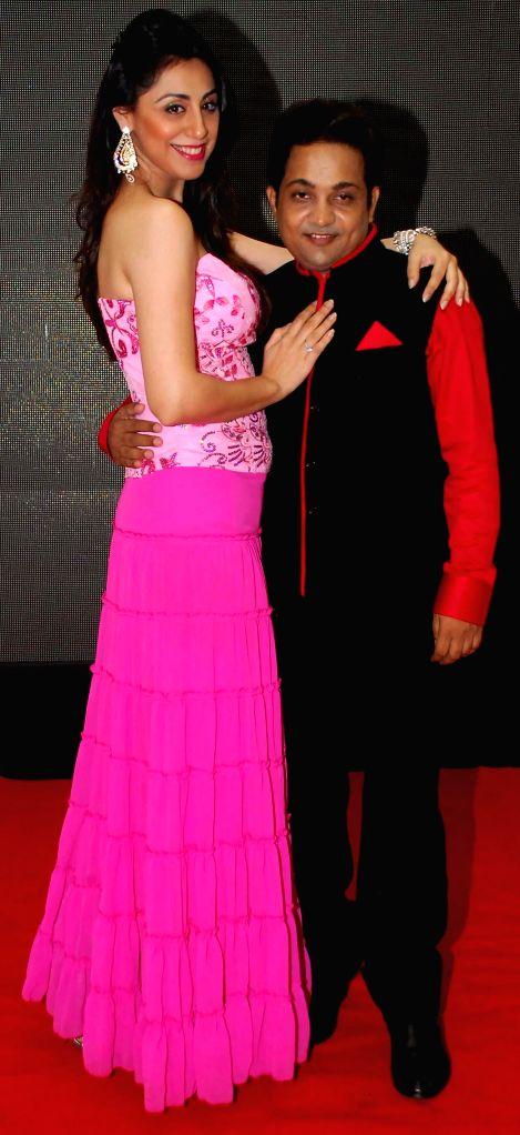 Nilofer Salehi & Aatri Kumar during the trailer and music launch of film Khota Sikka in Mumbai on Aug 31, 2014. - Aatri Kumar