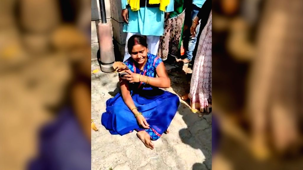 Nirbhaya case convict's wife breaks down after plea dismissed.