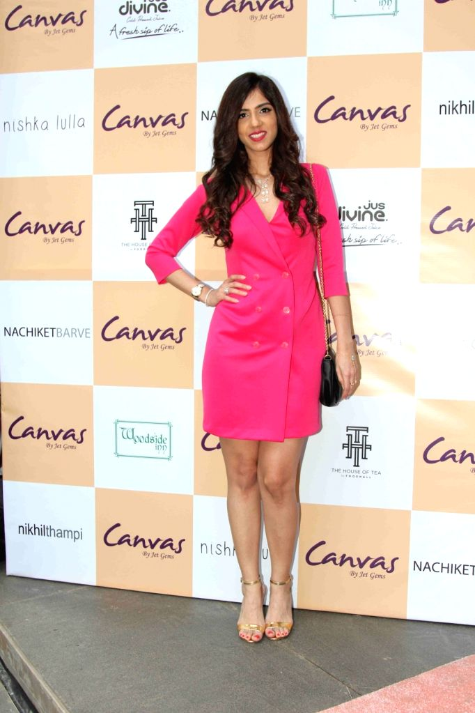 Nishka Lulla during the launch of jewellery brand, Canvas by Jet Gems in Mumbai on Dec 3, 2015.