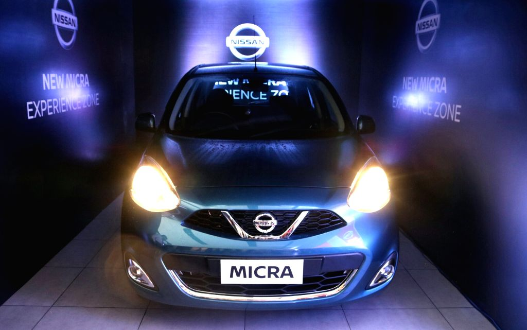 Nissan India launches the New Micra in Noida, on June 2, 2017.