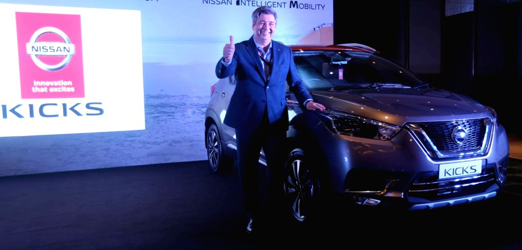 Nissan India President (Operations) Thomas Kuehl at the launch of Nissan Kicks SUV in Kolkata, on Jan 23, 2019.