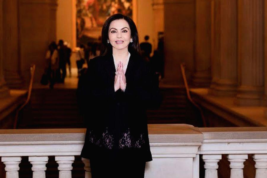 Nita Ambani Elected to the Board of The Metropolitan Museum of Art (New York) – the First Indian Trustee in the Museum's 150 Year history - Nita Ambani Elected