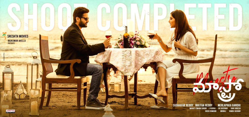 Nithiin, Merlapaka Gandhi, Sreshth Movies Maestro Shooting Completed. - Merlapaka Gandhi
