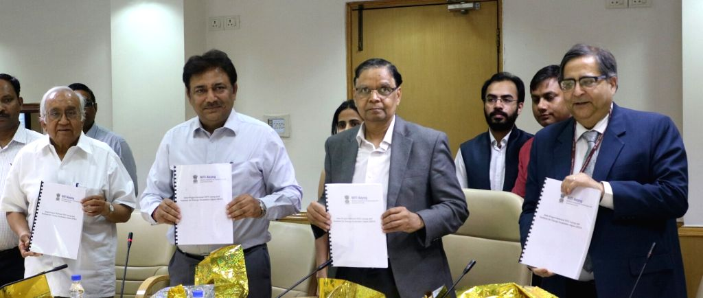 NITI Aayog Vice Chairman Arvind Panagariya at the launch of Energy Data portal in New Delhi, on May 12, 2017.
