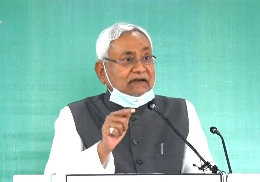 Nitish Kumar. - Nitish Kumar