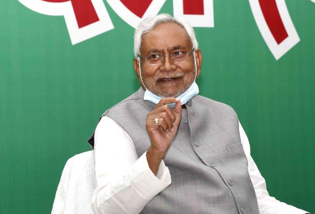 Nitish Kumar elected NDA Legislature Party leader - Nitish Kumar