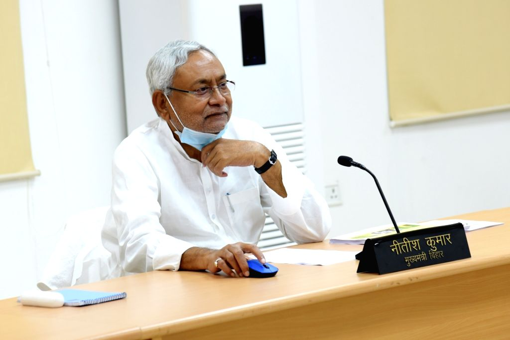Nitish seeks BJD's support for RS Deputy Chairman's post. (Photo: IANS)