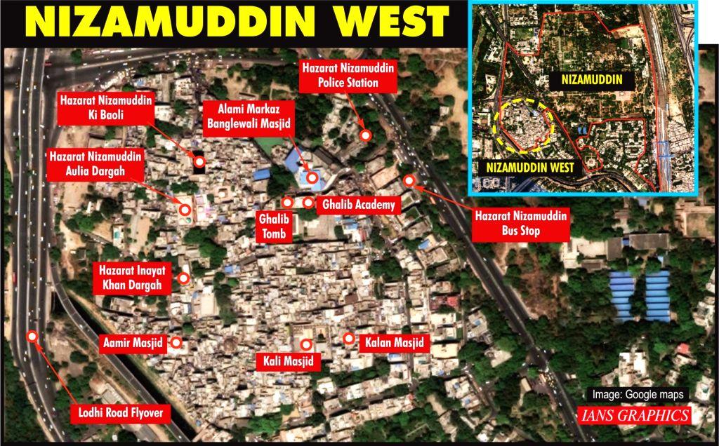 Nizamuddin West.