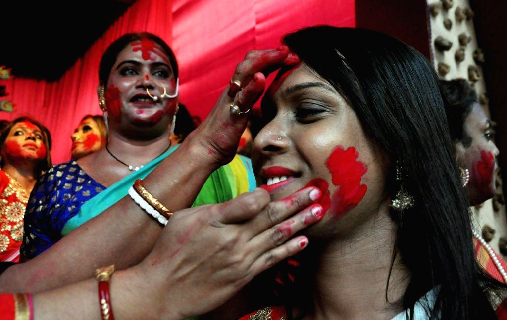 No 'Dhunuchi naach', no 'Sindur-khela' for Sonagachi sex workers this year