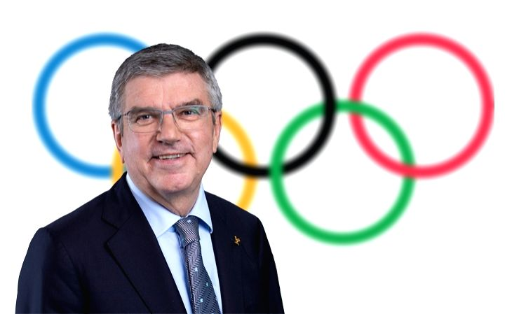 No IOC confirmation for Bach visit to Japan in May