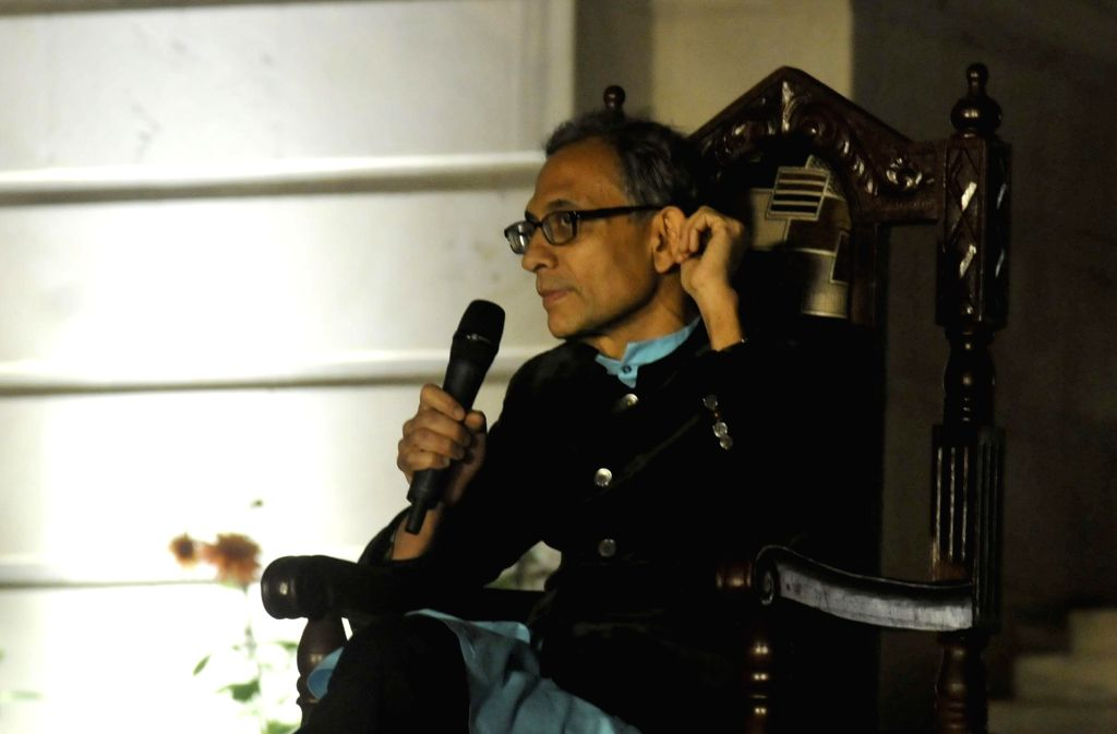 Nobel laureate Abhijit V. Banerjee during his conversation Good Economy for Hard Times at Tata Steel Kolkata Literary meet in Kolkata on Jan 27, 2020. - Abhijit V. Banerjee
