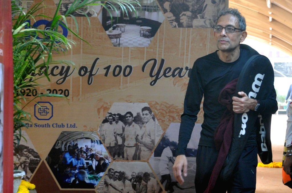 Nobel laureate and economist Abhijit Banerjee at the Calcutta South Club in Kolkata on Jan 28, 2020. - Abhijit Banerjee
