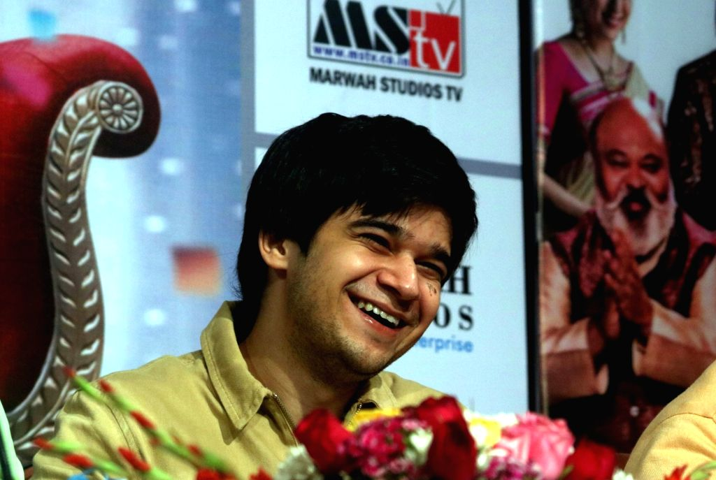 "Noida: Actor Vivaan Shah during a press conference organised to promote his upcoming film  ""Laali Ki Shaadi Mein Laaddoo Deewana"" in Noida, on April 3, 2017. (Photo: IANS) - Vivaan Shah"