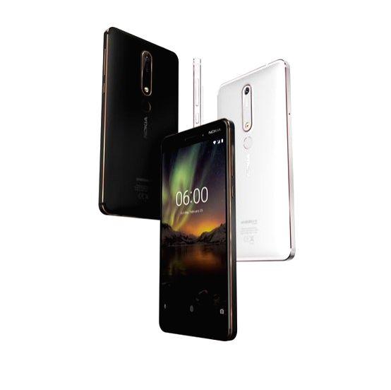 Nokia 6 smartphone.