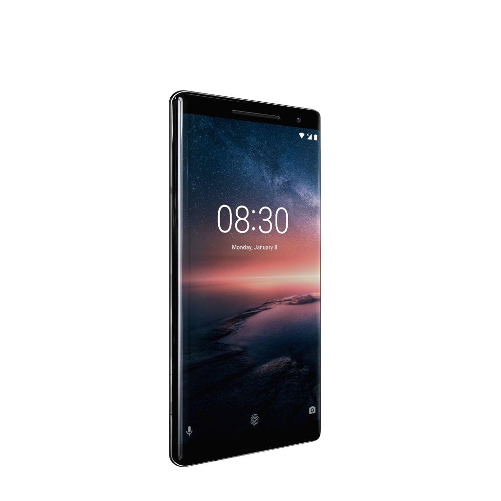 Nokia 8 Sirocco smartphone.