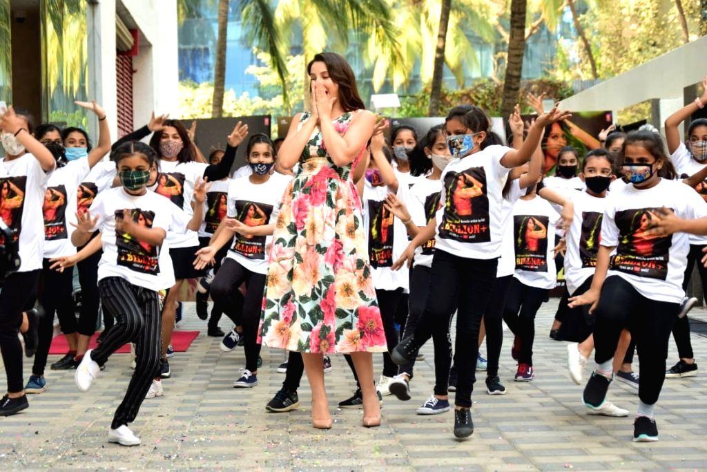 Nora Fatehi celebrates 1 Billion + views for DILBAR DILBAR on Saturday 06th March, 2021.