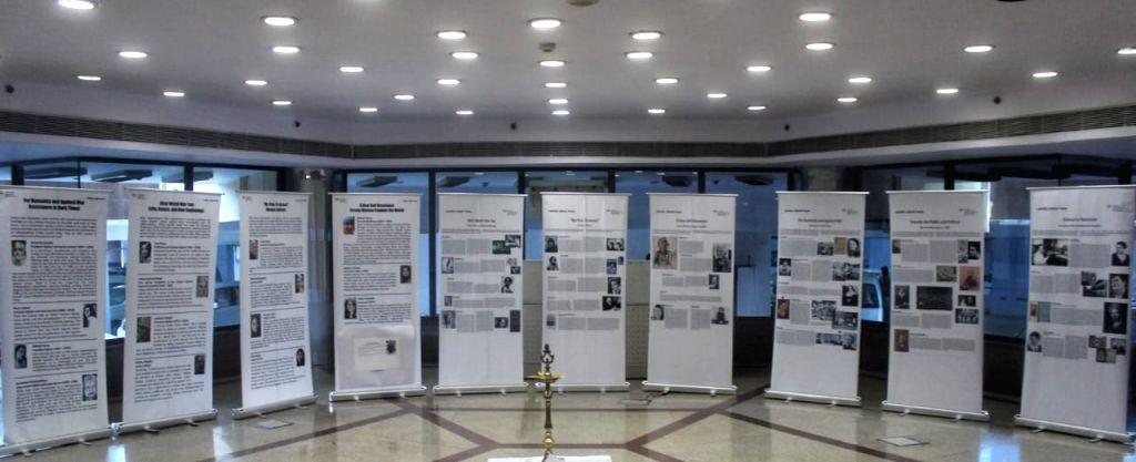 "North Delhi Mayor Jai Prakash and Matthias Radosztics Dy. Head of Mission, Austrian Embassy to inaugurate pictorial exhibition on women empowerment on occasion of ""International ..."
