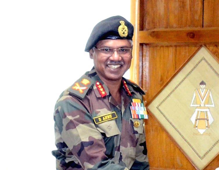 Northern Army Commander Lieutenant General Devraj Anbu. (File Photo: IANS)