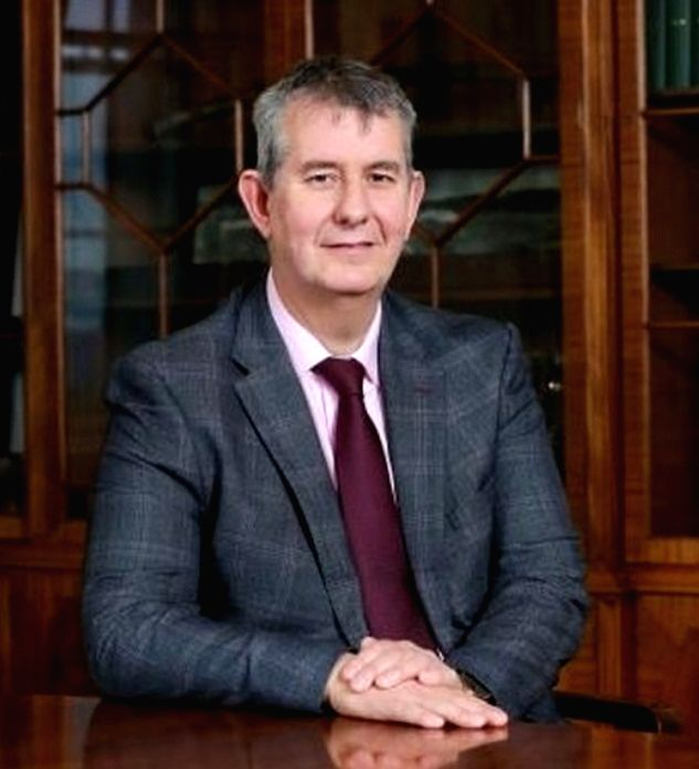 Northern Ireland DUP leader Edwin Poots resigns amid party revolt.(photo:Instagram)