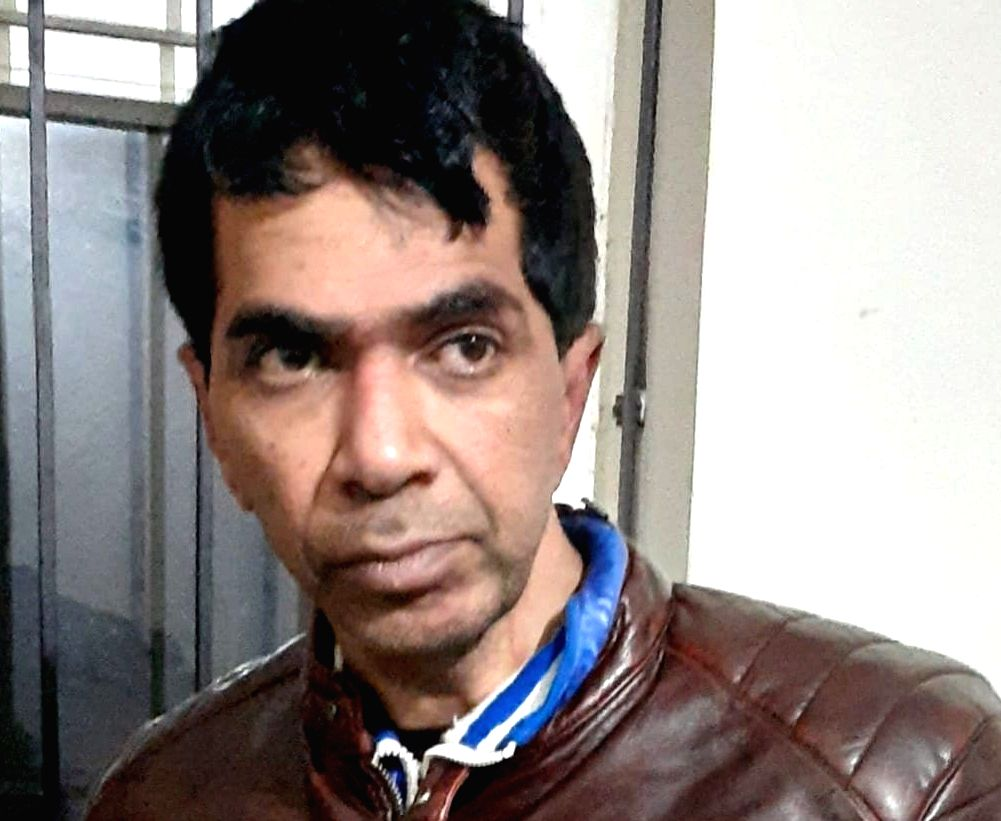 Notorious mafia don Ejaz Lakdawala, who was absconding for over two decades, was arrested by a Mumbai Police team in Patna, on Jan 9, 2020. (File Photo: IANS)