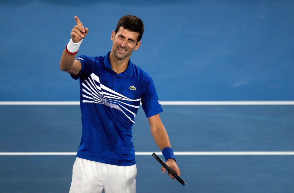 Novak Djokovic. (Xinhua/Hu Jingchen/IANS)