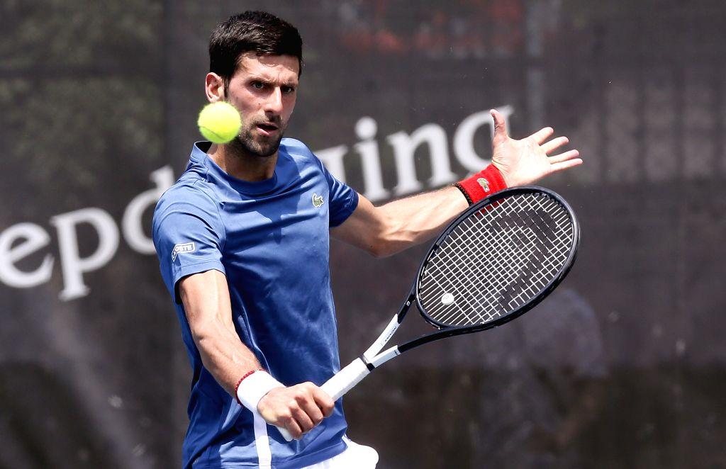 Novak Djokovic. (Xinhua/Predrag Milosavljevic/IANS)