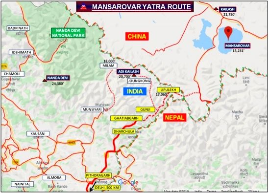 Now, Kailash Mansarovar Yatra just a road ride away from Delhi.