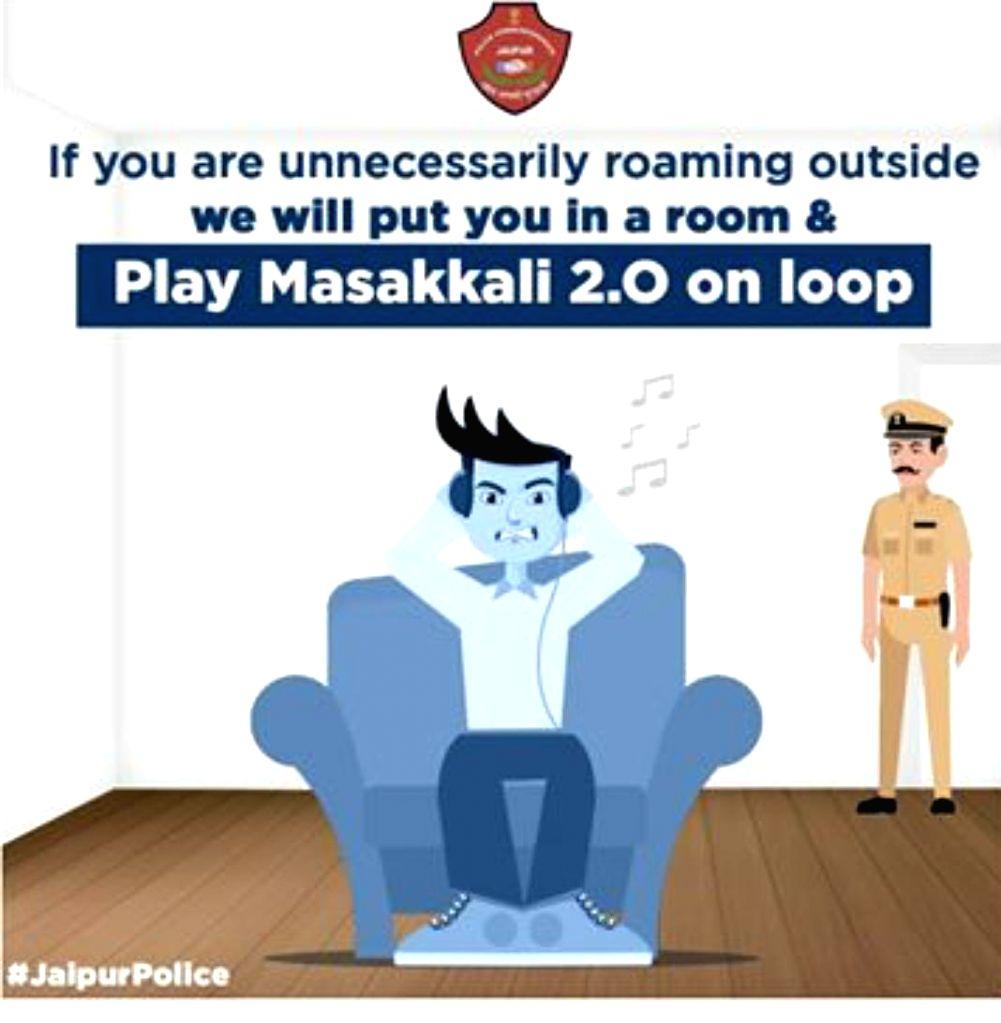 Now, 'Masakali 2.0' trolled by Delhi Metro and Jaipur Police!.
