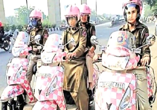 Now 'Pink Patrol' for women in Yogi land
