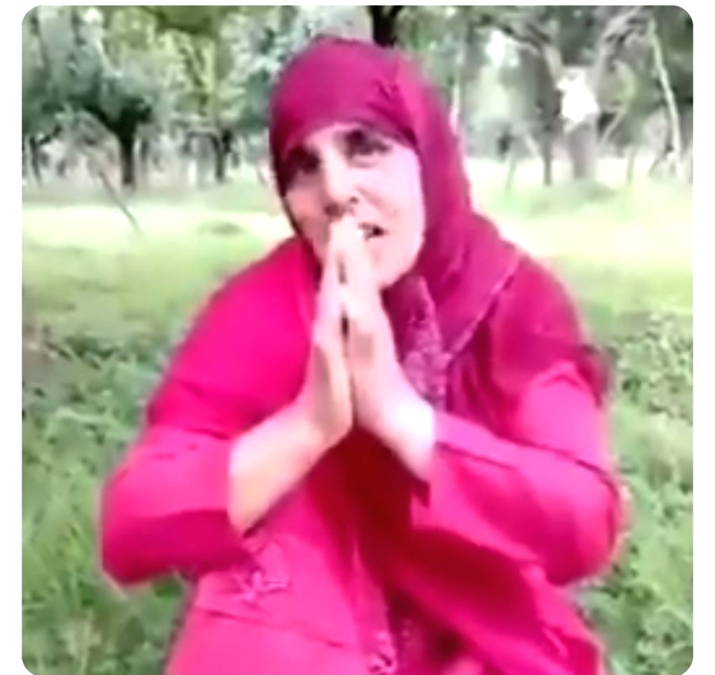 Now woman Sarpanch in Kashmir pleads before terrorists.