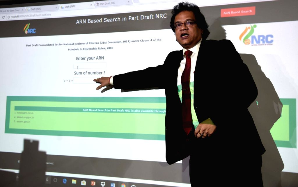 NRC Assam Coordinator Prateek Hajela. (Photo: IANS)