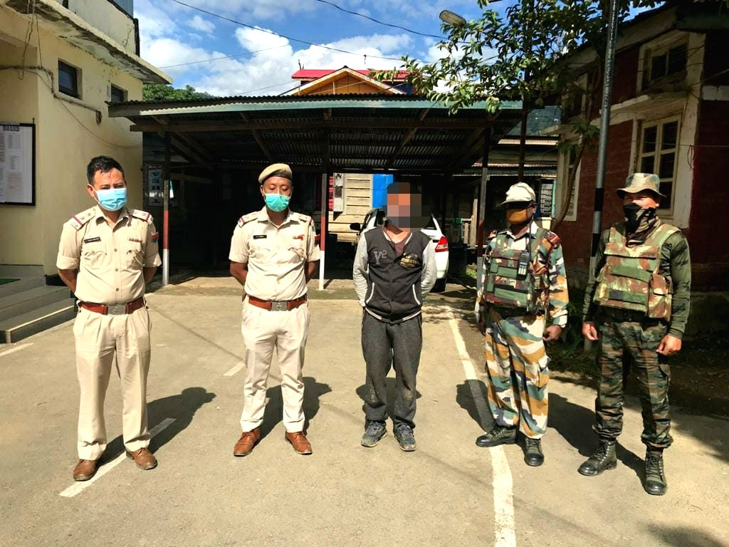 NSCN, Kuki militants held in Manipur with arms