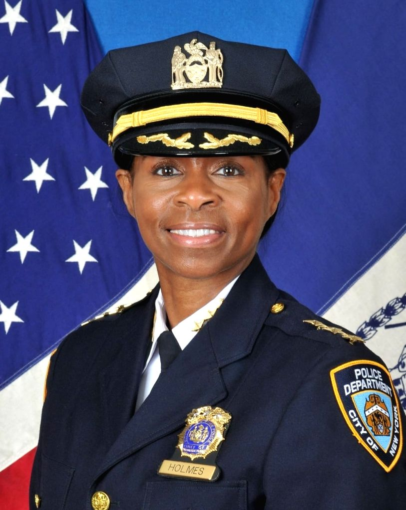 NYPD names 1st female chief of patrol. (Courtesy of NYPD) Xinhua