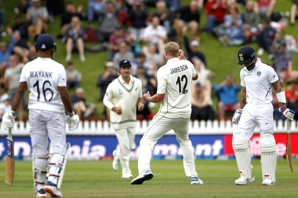 NZ pacer Jamieson gears up for Dukes ball after snubbing Kohli