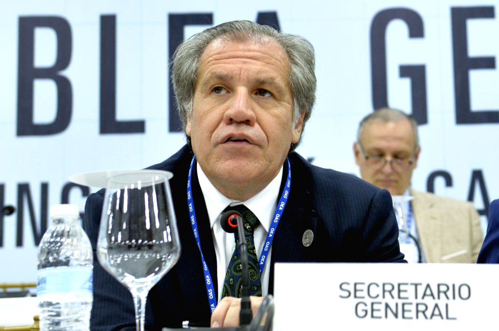 OAS chief Luis Almagro elected to new five-year term