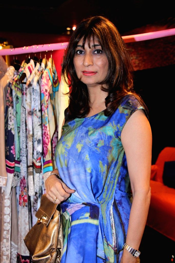 Obstetrician and Gynecologist Dr Rishma D Pai during preview of fashion designer Maheka Mirpuri`s summer collection, in Mumbai, on April 21, 2016.