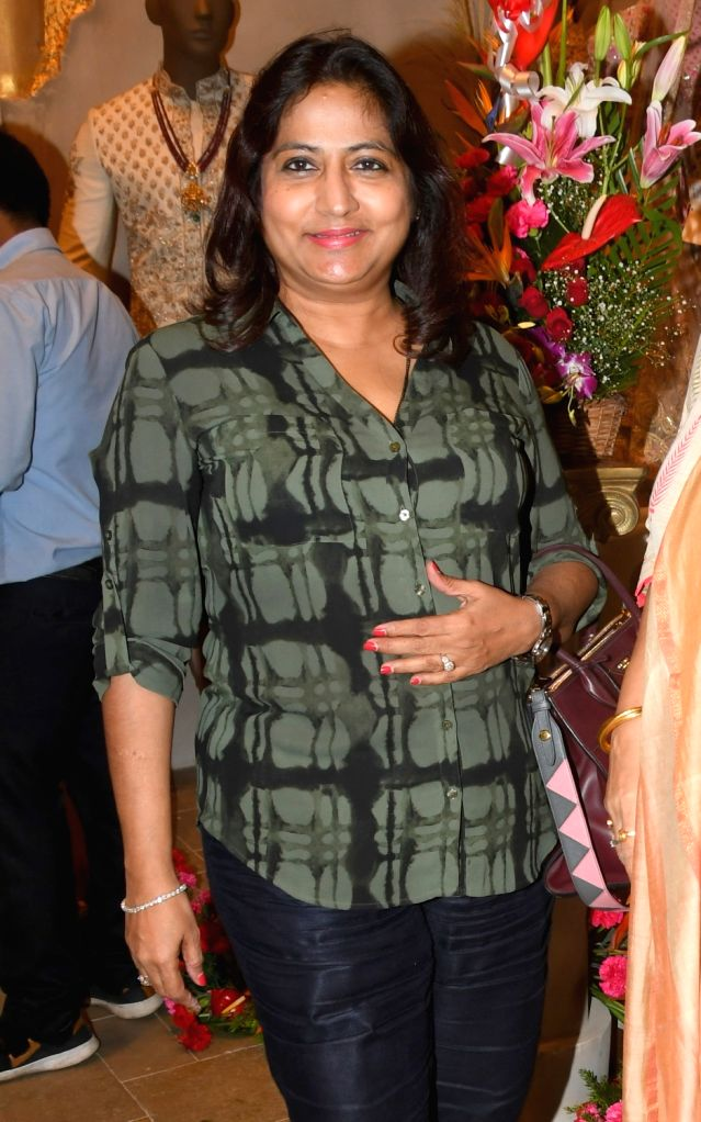 Obstetrician and Gynecologist Nandita P Palshetkar at the launch of a designer store, in Mumbai on July 21, 2018.