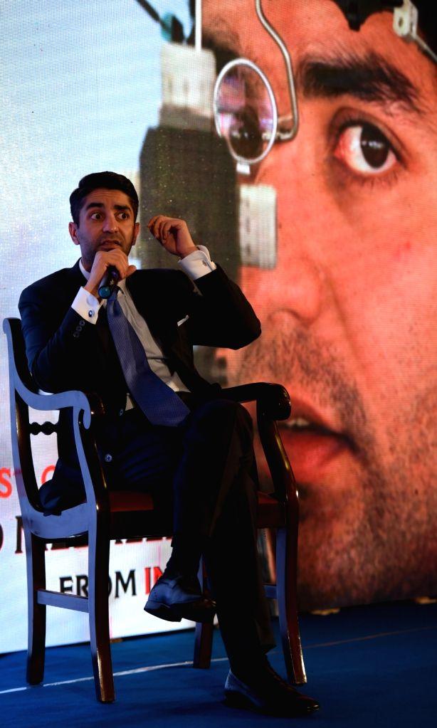 Olympic Gold Medaillist Abhinav Bindra addresses at Fanattic Sports Museum at New Town in Kolkata on April 29, 2017.