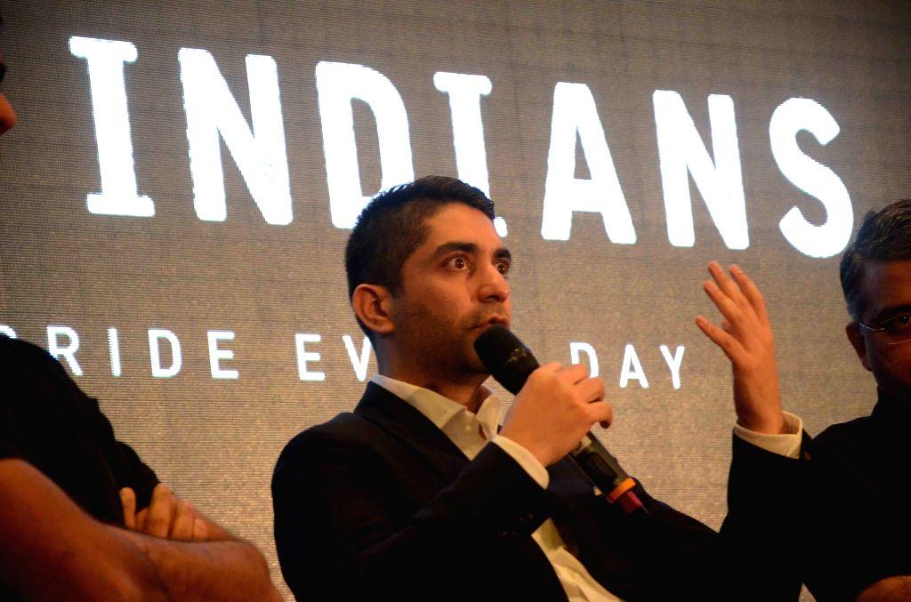 "Olympic Gold Medaillist Abhinav Bindra during ""Invincible Indians"" awards 2016 in Mumbai on Nov 29, 2016."