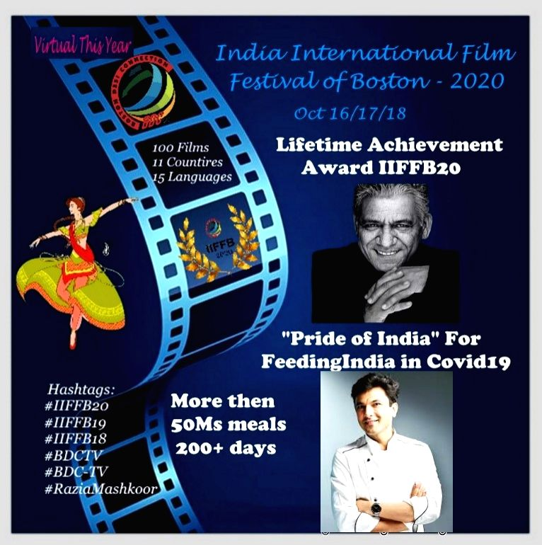 Om Puri honoured at India International Film Festival of Boston