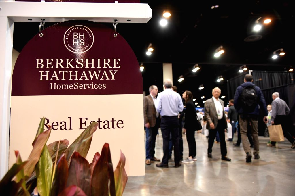 OMAHA (U.S.), May 4, 2019 Shareholders of Berkshire Hathaway, a Warren Buffett company, visit a fair during the company's annual shareholders meeting in Omaha, the United States, on May ...